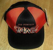 San Francisco Giants hat Vintage DS Snapback w/ tags STARTER Last1 Tri Power