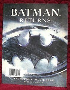 Batman Returns The Official Movie Book 1992 Michael Singer