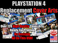 PS4 Replacement Game Cover Arts Box Arts (No Game Disc No Case) USB PlayStation