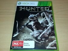 HUNTED THE DEMON'S FORGE XBOX 360 GAME COMPLETE MA15+
