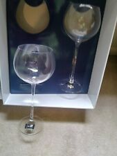 Mikasa High-Rise Collection Burgundy Wine Glasses - Set of 2
