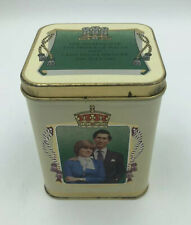 Marriage Of Prince Charles And Lady Diana Spencer July 1981 Tea Tin  Princess Di