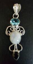 Crystal Moonstone Stone Fashion Necklaces & Pendants