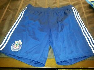 Adidas Chivas USA men's soccer team shorts game version size XXL
