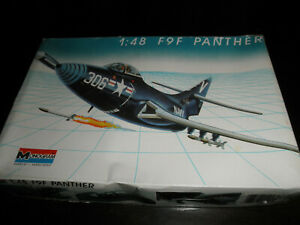 1/48 F9F PANTHER US Navy Military Fighter Jet by Monogram