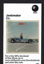 JAWBREAKER- ETC. DIGITAL DOWNLOAD CODE MP3 PUNK EMO ROCK INDIE JETS TO BRAZIL