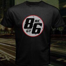 Takumi Fujiwara Tofu Shop GT Trueno AE86 Logo Initial D Drift T-Shirt