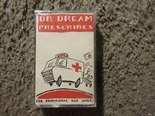 """V/A """"DR. DREAM PRESCRIBES"""" 1989 PROMO ONLY STILL SEALED OOP CASSETTE SAMPLER!"""