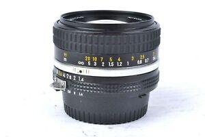 Nikon NIKKOR Ais 50mm F/1.4 Lens *Minor Haze* #J57008