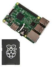RASPBERRY Pi 3 Model B With 8GB NOOBS (2016 Model)