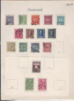 austria stamps page ref 18017