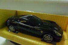 HOT WHEELS SHELL 1:38 AUTO DIE CAST FERRARI 599 GTB FIORANO NERO BLACK ART 80079