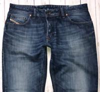 Mens DIESEL Larkee Jeans W33 L32 Blue Regular Straight