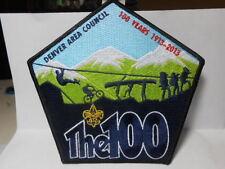 DENVER AREA COUNCIL LARGE PATCH 2013 NATIONAL JAMBOREE PATCH
