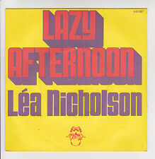 "Léa NICHOLSON Vinyl 45T 7"" LAZY AFTERNOON - SORRY ABOUT THE PHONE STEPHANIE"