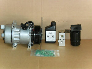 NEW AC COMPRESSOR KIT FITS 1990-1993 DODGE D150, 250, 350 W250, 350 DIESEL