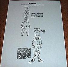 Vintage Gi Joe Mystery Of The Boiling Lagoon Instruction Repro Rare Hasbro