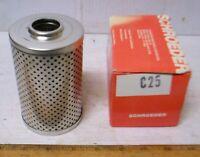 Schroeder Industries LLC - Fluid Filter Element - PN: C25 (NOS)