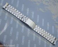 SEIKO ORIGINAL 1970s 18mm STAINLESS STEEL WATCH STRAP 7005-8020 STELUX