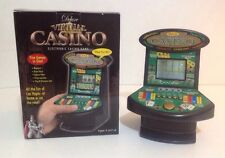 Deluxe 5 In 1 Virtual Casino Mini Arcade Machine Game Table Top Excalibur 🌟