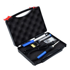 60W Adjustable Temperature Welding 6-in-1 Electric Soldering Iron Kit with Case