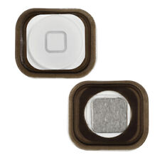 New White Menu Home Button With Spacer For Apple iPod Touch 5 5th Generation