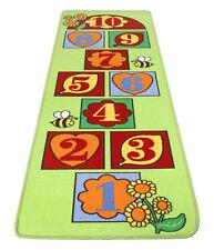 Hüpfteppich Kinderteppich Spielteppich Hop Carpet Teppich Kinder 67x200 grün