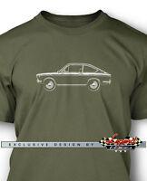 Fiat 850 Sport Coupe Men T-Shirt - Multiple Colors & Sizes - Italian Classic Car