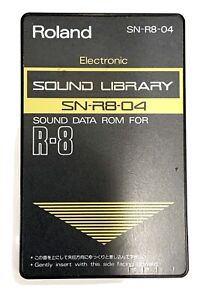 Roland R8 ROM Soundcard SN-R8-04 Electronic TR808