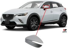 FOR MAZDA CX-3 15-19 NEW WING MIRROR COVER CAP PRIMED LEFT N/S
