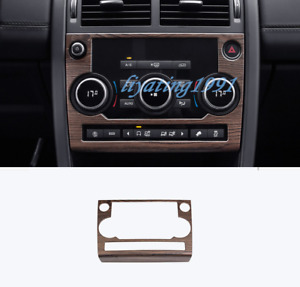 Peach Wood Grain Air Condition Panel Cover Trim For Discovery Sport 2015-2019