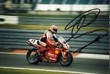 Troy Corser Ducati Motorrad Original Autogramm Autograph Foto (W-7971