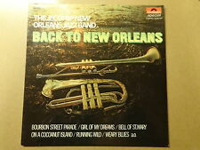 """LP 12"""" / THE JEGGPAP NEW ORLEANS JAZZ BAND: BACK TO NEW ORLEANS POLYDOR, BELGIUM"""