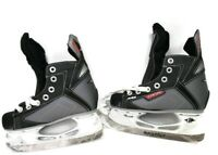 Easton Synergy SYS2 Boys Ice Hockey Skates Black Ice Skates Youth size 12