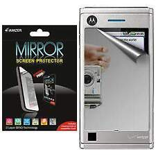 AMZER Mirror Screen Protector with Cleaning Cloth For Motorola DEVOUR A555