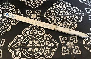 Cutco 1724 JC Serrated White Handle Bread Knife NEW