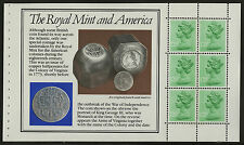 """Great Britain   1983   Scott #MH 80a    Mint Never Hinged Booklet Pane """"Royal"""""""