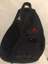 Nike Air Jordan Crossbody Sling Laptop Backpack New With Tags