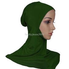 Women Under Scarf Cap Bone Bonnet Ninja Hijab Islamic Neck Cover Muslim  Wrap