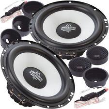 Audio System M 165 EVO 16,5cm 2 Wege Kompo Lautsprecher Set 165mm Compo Speaker