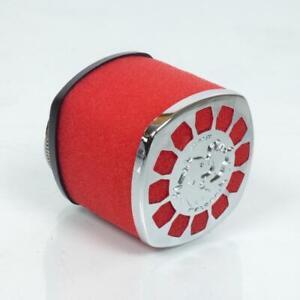 Tüte Luftfilter Recht Malossi Rot 0411450 E14 Ø32mm Neu für Motorrad