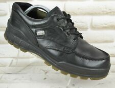 ECCO Track Gore-Tex Mens Leather Outdoor Hiking Boots Waterproof Size 8 UK 42 EU