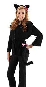 Cute Black Kitty Costume Kit One Size