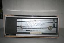 ANTIGUA RADIO PHILIPS,  GRANDE, 7,4 KG  CARCASA DE MADERA, VALVULAS VER FOT