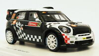 Spark 1/43 Scale S3351 - Mini John Cooper Works #12 - 10th Monte Carlo 2012