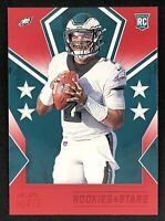2020 Panini Rookies & Stars Jalen Hurts Rookie Red Parallel SP #106 - Eagles