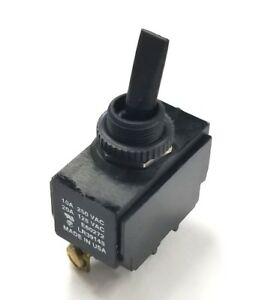 Carling 2GB54-D4BB SPDT ON-ON Nylon Toggle Switch 20A 125VAC, 10A 250VAC