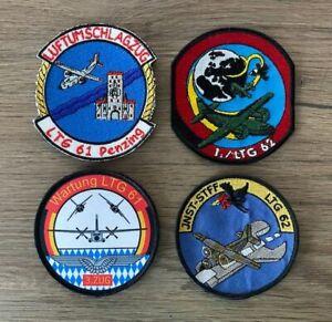 Patch, Ärmelabzeichen, Abzeichen, Luftwaffe, Transall C-160, LTG 61, LTG 62