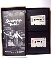 SWEENY TODD Original Cast 1979 Cassettes and Play Book Sondheim Lansbury Cariou