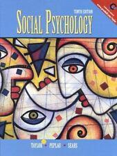 Social Psychology (10th Edition) by Taylor, Shelley E., Sears, David O., Peplau